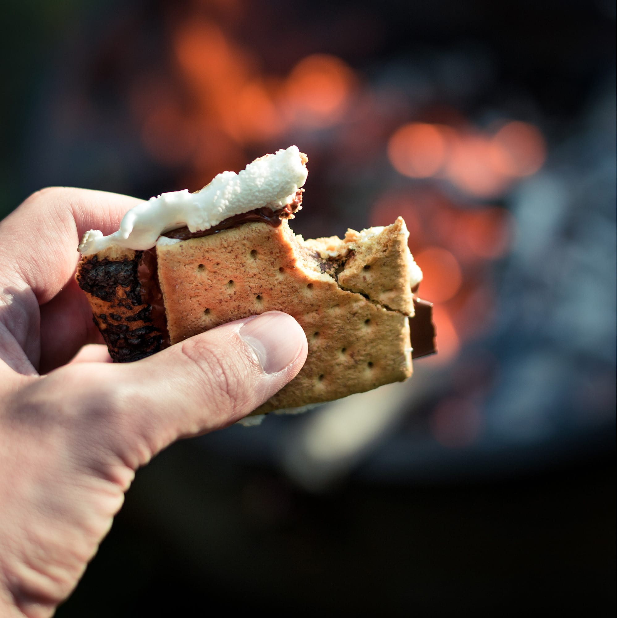 S'Mores at the Acadia Inn, Bar Harbor, Maine Hotel